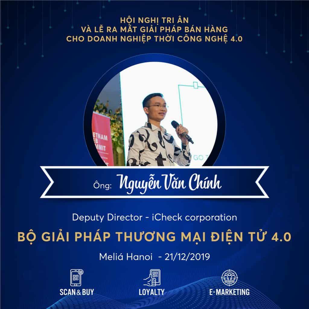 Nguyễn Văn Chính Deputy Director iCheck