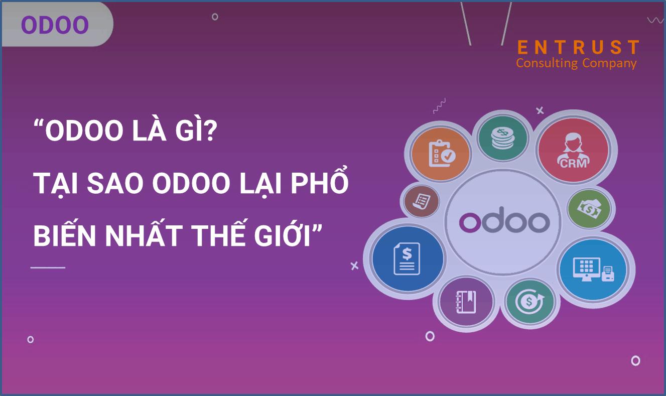 Odoo là gì? Tại sao phần mềm Odoo phổ biến nhất thế giới?